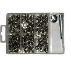 Комплект крепежа для тента - 101 ед.(нерж) 710124