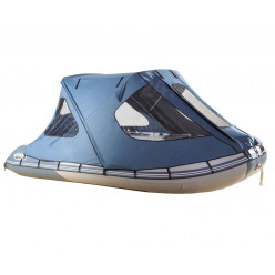 Тент ходовой с каркасом для лодок Gladiator 330 серый