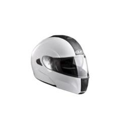 Шлем снегоходный Solid White M