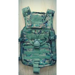 Рюкзак 25л цифра зеленый 6023