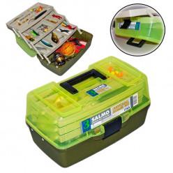 Ящик рыболовный SALMO пласт.3-х полочный 03 малый