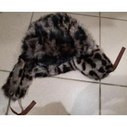Шапка-ушанка мод.1 зимушка кролик траф.