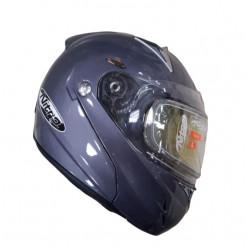 Шлем снегоходный F-349 титан глянец AC187664-29M
