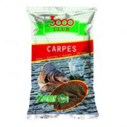 Прикормка 3000 Club CARPES 1kg