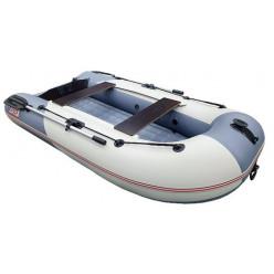 Надувная лодка STELS 275 Aeрo цвет серый/белый