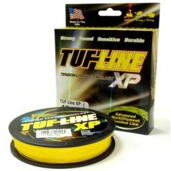 Плетеный шнур TUF-LINE ХР 137м 0.28мм 17кг  желтый