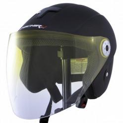 Шлем открытый МО110 черн.мат. MICHIRU р.L