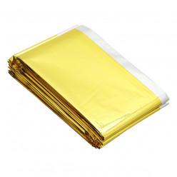 Термоодеяло СЛЕДОПЫТ 160*210см серебро/золото PF-SB-28