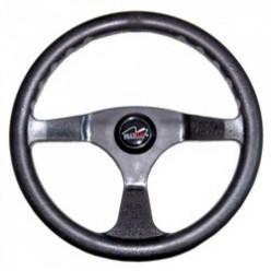 Рулевое колесо 350мм,чёрное LM-W-0001 613023