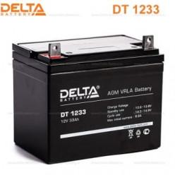 Аккумуляторная батарея Delta DT 1233 (12V / 33Ah)