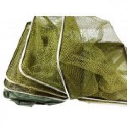 Садок спортивный квадратный 7 колец зеленый
