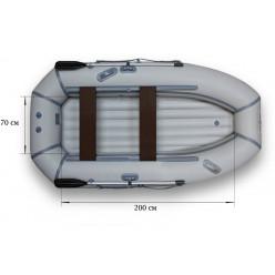 Надувная гребная лодка ФЛАГМАН-280НT