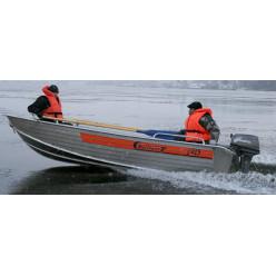 Лодка алюминиевая Wellboat-42К