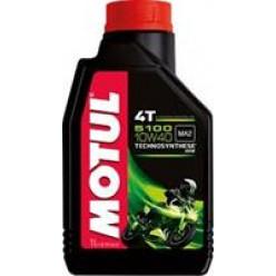Моторное масло MOTUL 5100 Ester 4T 10W40 п/с 1л