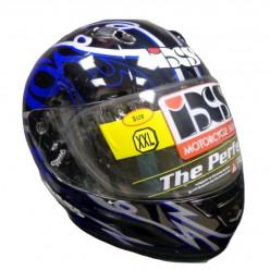 Шлем X14007349 HX246(черн\син\сер) 2XL