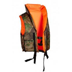 Жилет спасательный Детский  Двусторонний ПР цвет оранж/лес ткань Оксфорд 40-42