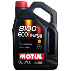 Моторное масло MOTUL 8100 Eco-Nergy 5W-30 5л синтетика