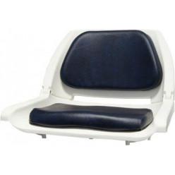 Кресло  DELUXE  белый/синий 8WD139LS-041
