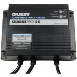 Водонепроницаемое зарядное устройство  на 2АКБ Guest ChargePRO 12v/24v 10Amp