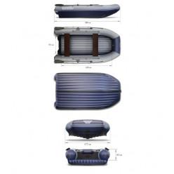 Надувная моторная лодка ФЛАГМАН-DK 380