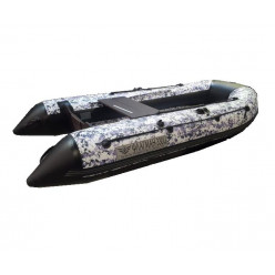 Надувная моторная лодка ФЛАГМАН-330U pixel фиолетовый