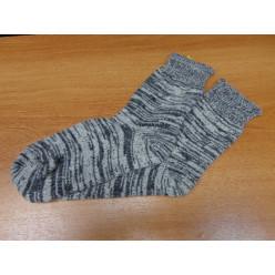 Носки круговая вязка (тонкие серые)