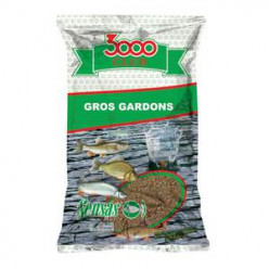 Прикормка 3000 Sensas CLUB GROS GARDON 1kg
