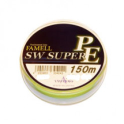 Плетеный шнур Yamatoyo FameLL SW Super PE Yellow 0.6 150м 0.128мм