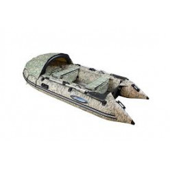 Лодка моторная Gladiator C400AL камуфляж/цифра