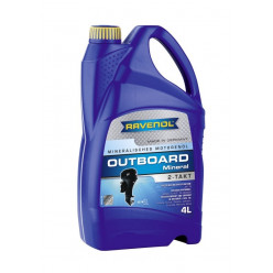 Масло RAVENOL Outboardoel 2T Mineral 4 л
