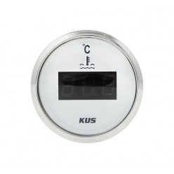 Указатель температуры двиг.25-120гр белый KY24100