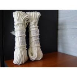 Веревка крученая ВПА 3.1мм 35м белая