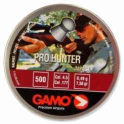 Пули пнев GAMO Pro-Hunter 4.5мм  500шт