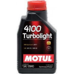 Моторное масло MOTUL 4100 Turbolight 10W-40 1л п/синт