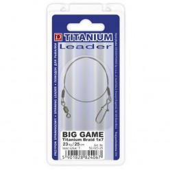 Поводки Dragon Titanium Big Game 18kg 15cm