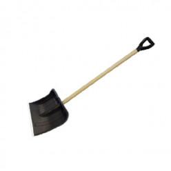 Лопата снеговая Богатырь 500*375 деревянный черенок
