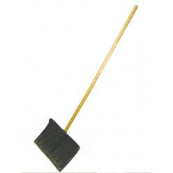Лопата снеговая Крепыш 440*315 деревянный черень