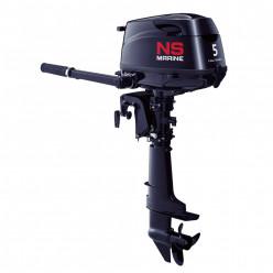 Лодочный мотор 4-х так. NS Marine NMF 5 C SS 25кг бак 12л