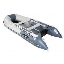 Лодка Gladiator B300Al цв.светло-темно серый