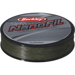 Плетеный шнур Berkley Nanofil Lo-Vis Green 0.12мм 125м