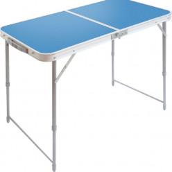 Стол складной ССТ-3 (пластик) голубой ССТ-3