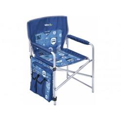 Кресло складное 2 КС2 джинс/синий