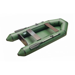 Моторно-гребная лодка с жестким транцем Standart-SL 2800 зеленый