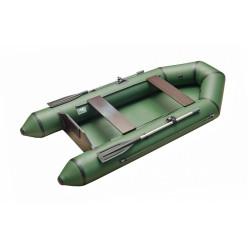 Моторно-гребная лодка с жестким транцем Standart 2600 зеленый