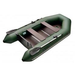 Моторно-гребная лодка с жестким транцем Standart 2800 серый