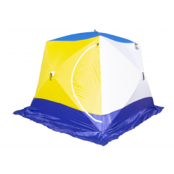 Палатка КУБ 4 Т трёхслойная дышащая