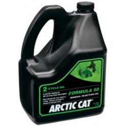 Масло Arctic Cat 2-cycle минеральное для снегоходов 3.78л. 5639-476, 6639-153