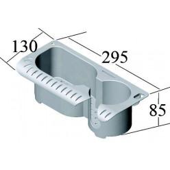 Органайзер пласт.с секцией для стакана С12240