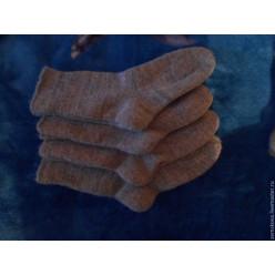 Носки мужские серые с ангорой