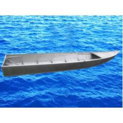 Лодка алюминиевая Вятка-60